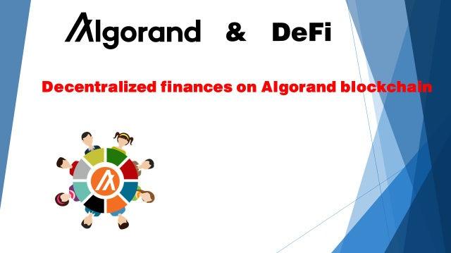 Nuevo fondo pretende destinar cientos de millones de dólares al crecimiento de DeFi en Algorand